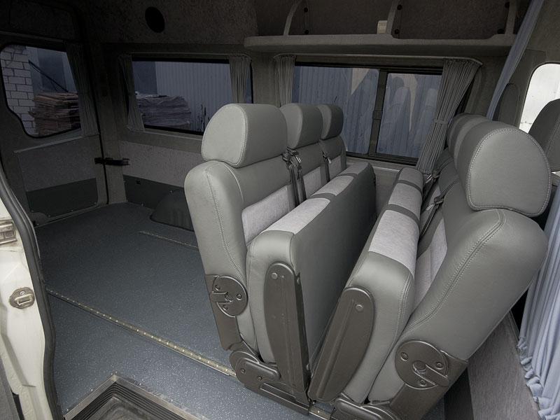 Салон трансформер для микроавтобуса своими руками